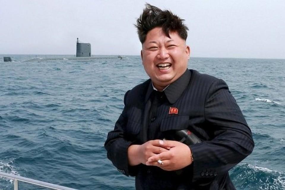 Северокорейский лидер Ким Чен Ын на ядерных испытаниях