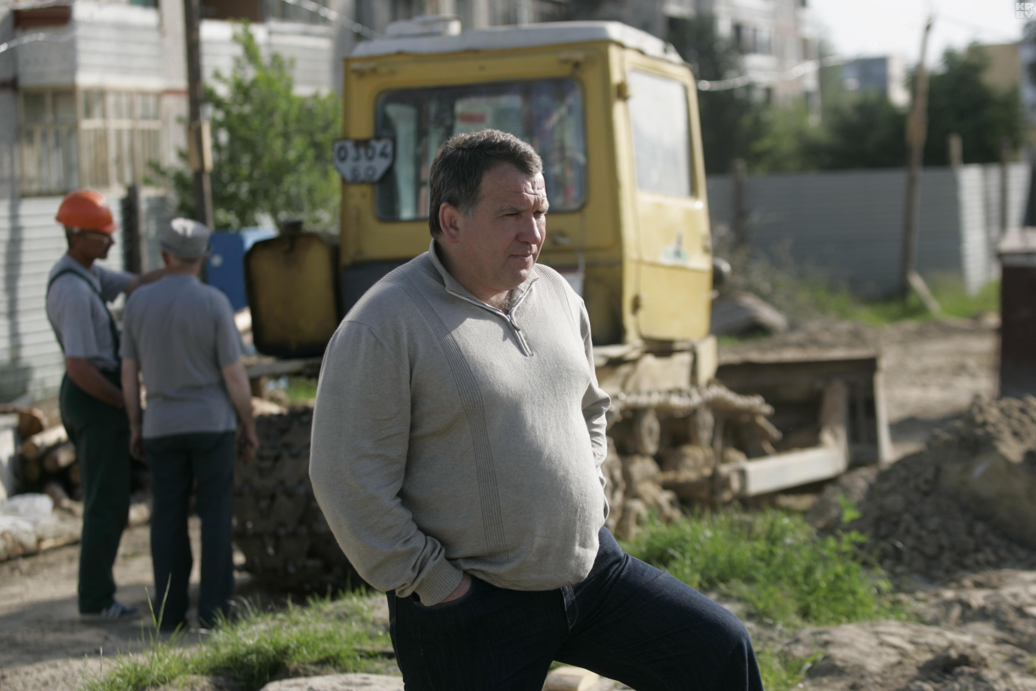 Юрий Чиж на малой родине – в Березе. 2008 год