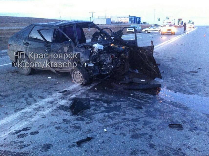 ДТП натрассе «Минусинск-Абакан» спровоцировал нетрезвый шофёр