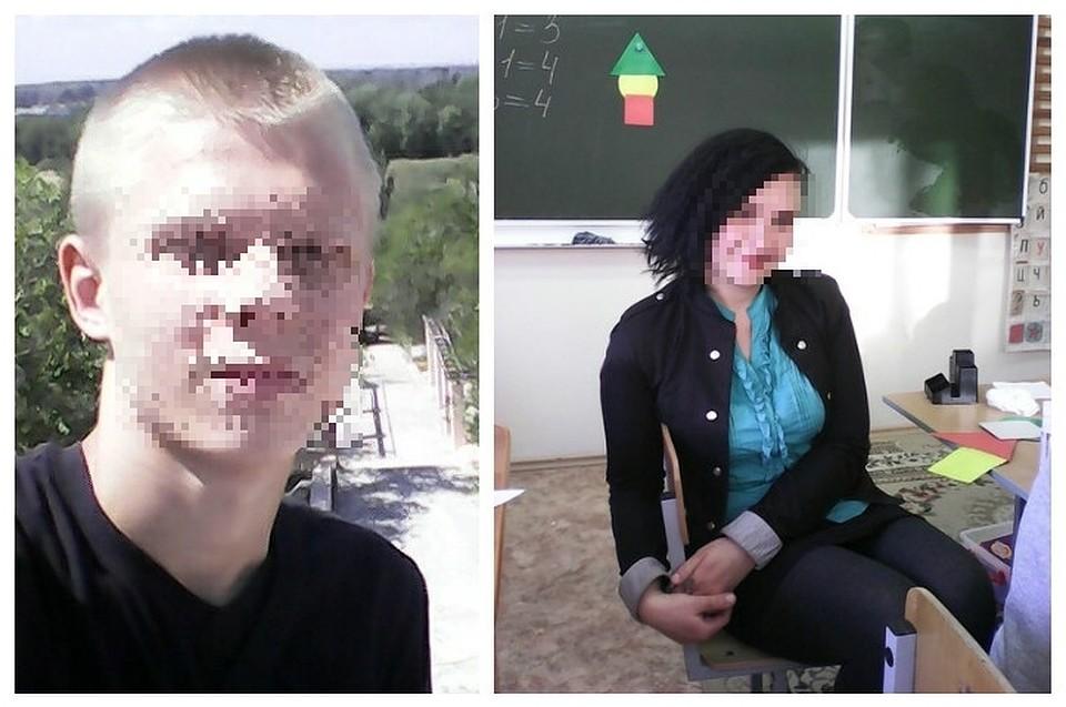 смотреть трах школьник и училка