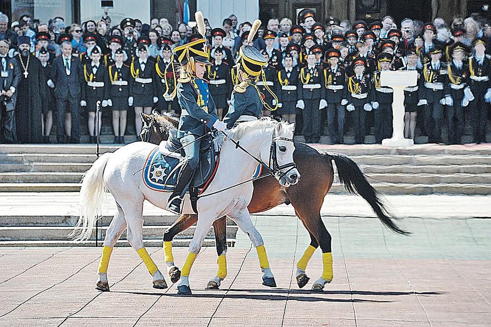 Столичные кадеты пройдут парадом поПоклонной горе