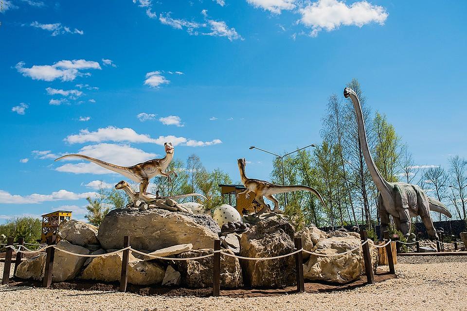ВКазани появится парк динозавров