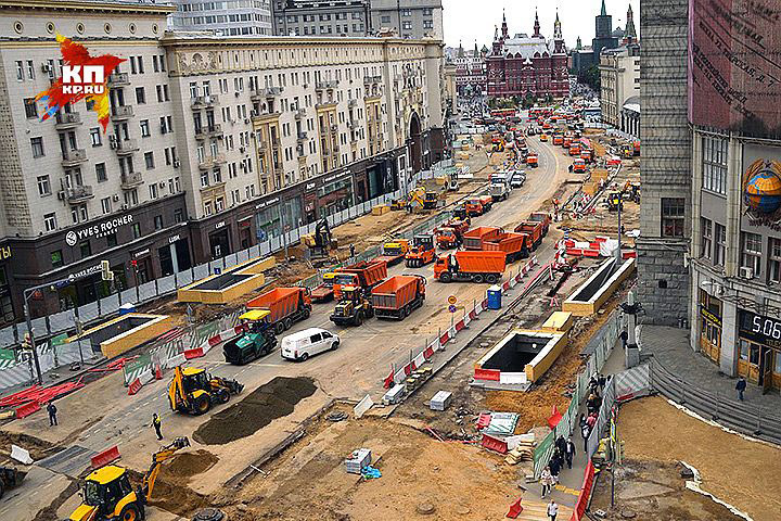 Скоро Москва преобразится.