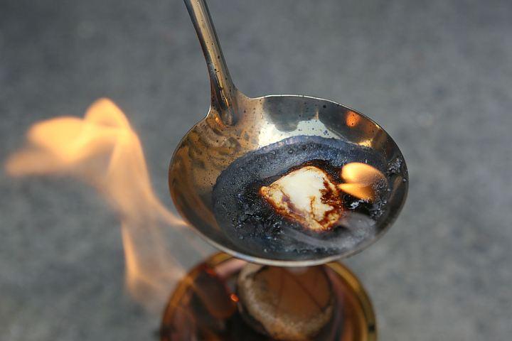 Творог горел синим пламенем