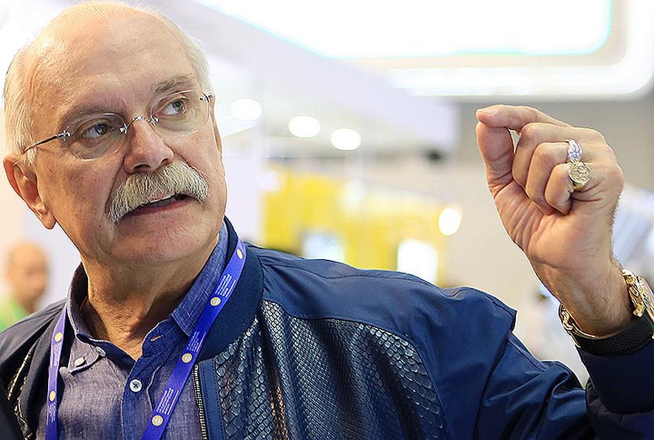 Председатель Союза кинематографистов России Никита Михалков во время XX Петербургского международного экономического форума. С
