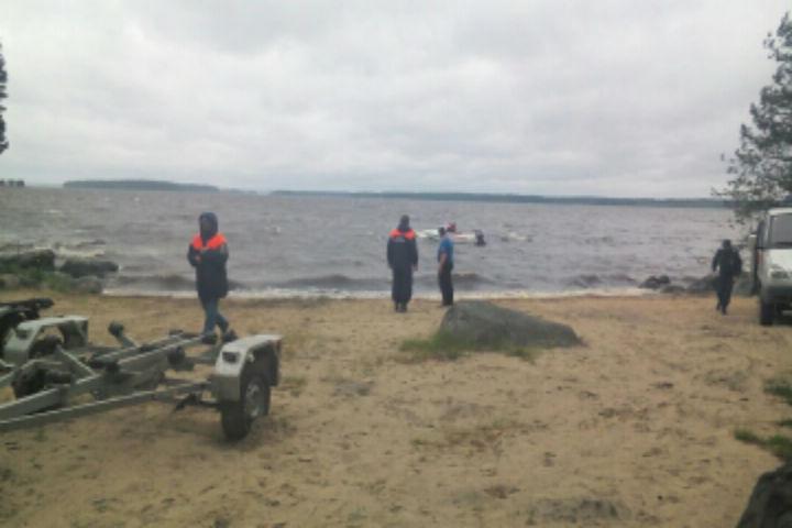 ЧП произошло вчера в районе 16.00. ФОТО: ГУ МЧС по Республике Карелия