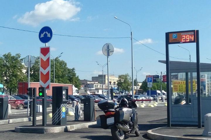 В Петербурге появилась еще одна перехватывающая парковка Фото: КРТИ