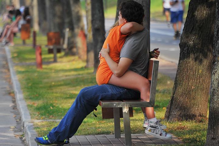 Выяснилось, что главным врагом романтических отношений в мире красок является оранжевый