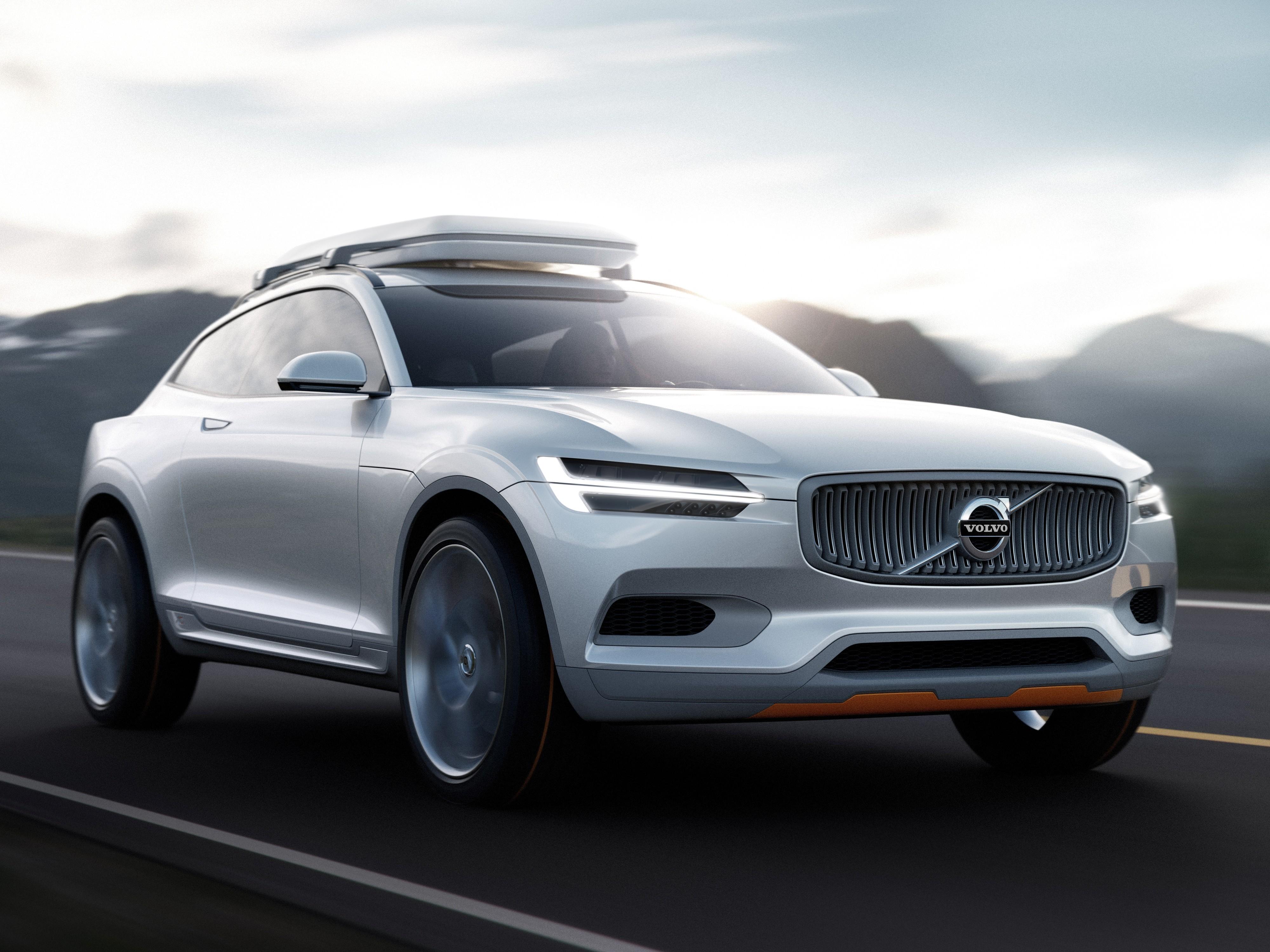 По скетчам можно проникнуться духом и философией будущей модели. Фото Volvo