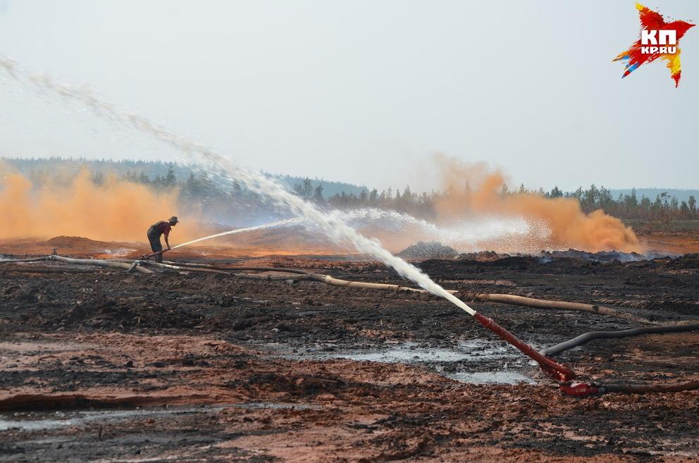 Насевере Свердловской области ввели режимЧС из-за лесных пожаров