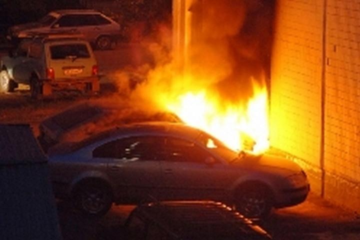 Заночь вНовокузнецке сгорели две машины