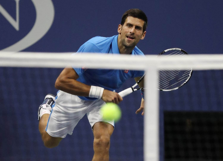 Теннисист Джокович прошел во 2-ой раундUS Open