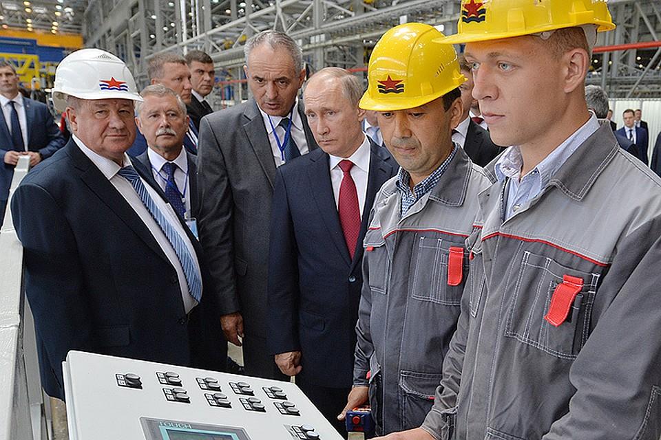 Путин: «Есть все основания полагать, что предприятие будет лучше, чем у конкурентов в мире»