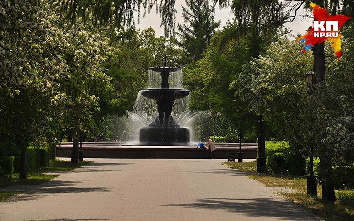 Уомичей остался последний день для посещения городских фонтанов