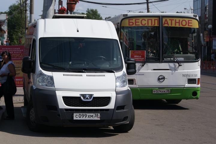 Мэр Иркутска потребовал ужесточить контроль пассажирского транспорта довыхода налинию
