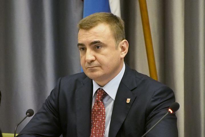 Руководитель Тульской области вступил вдолжность