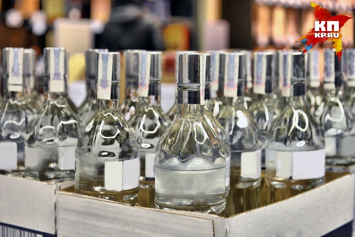 Ссамого начала года продажи водки вУдмуртии упали на5%