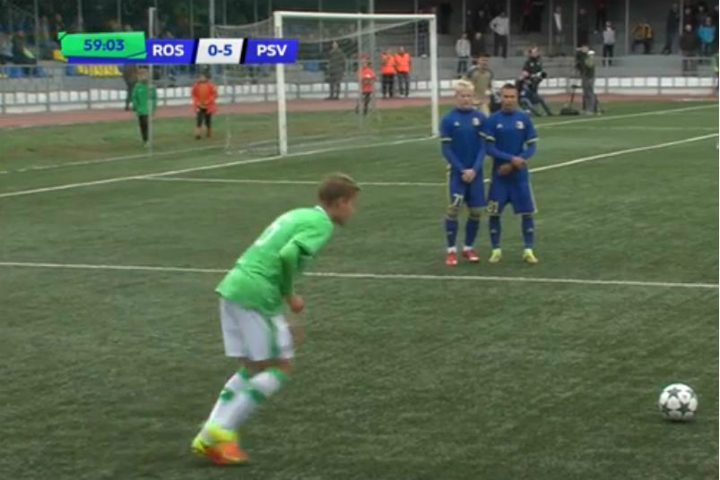 ПСВ разгромил «Ростов» вЮношеской лиге УЕФА