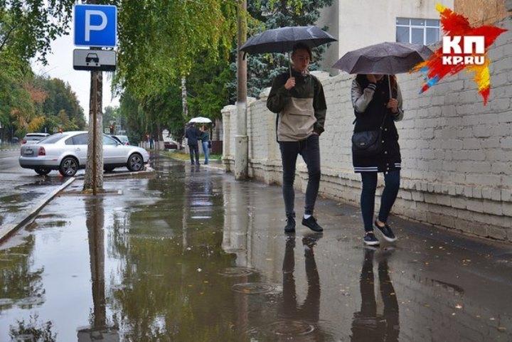 Сегодня вКазани— сильный дождь игрозы