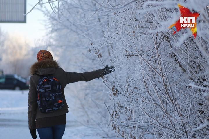 Синоптики обещают красноярцам прохладные иснежные выходные