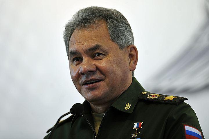 Глава военного ведомства РФ Сергей Шойгу