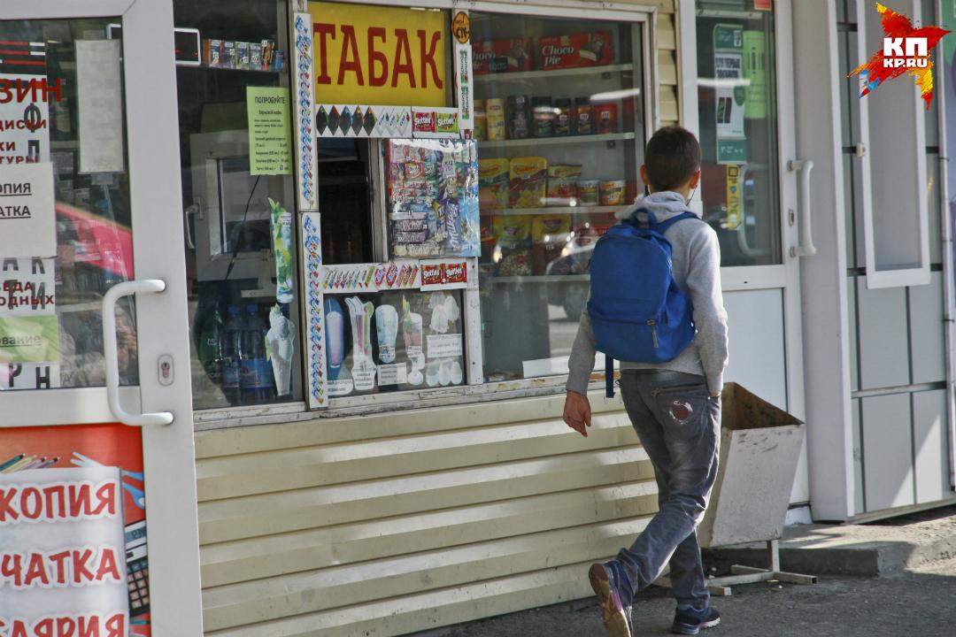 Вкировских газетных киосках разрешили торговать сигареты