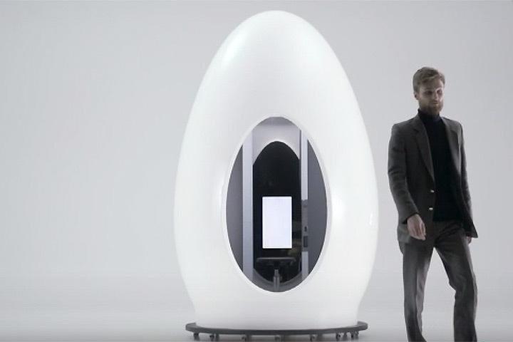 В Эстонии придумали 3D сканер, который позволяет создать копию самого себя для виртуальной реальности. Фото: ETV+