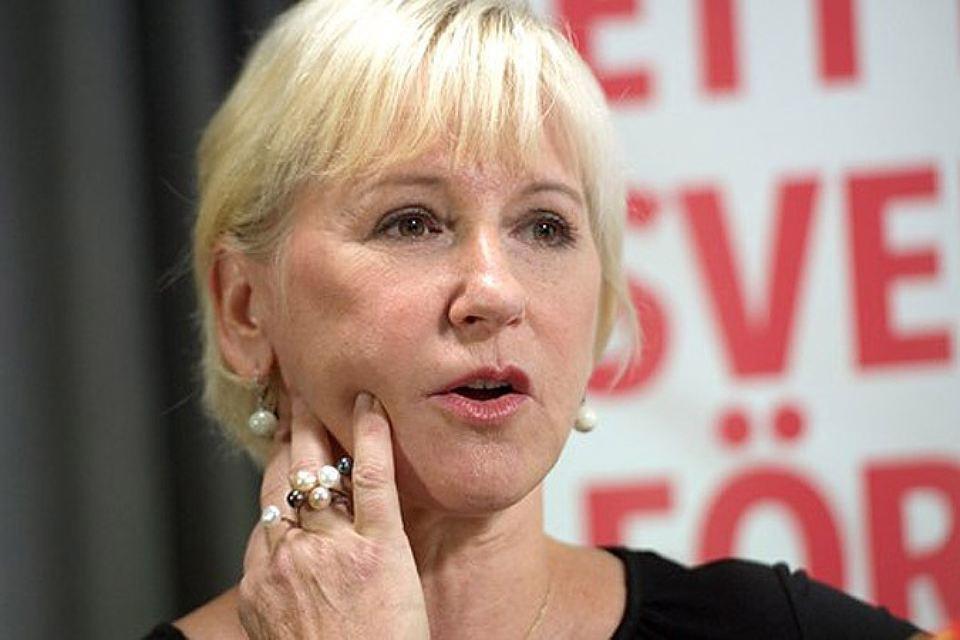 Глава МИД Швеции Маргот Вальстрём. Фото: с сайта sverigesradio.se