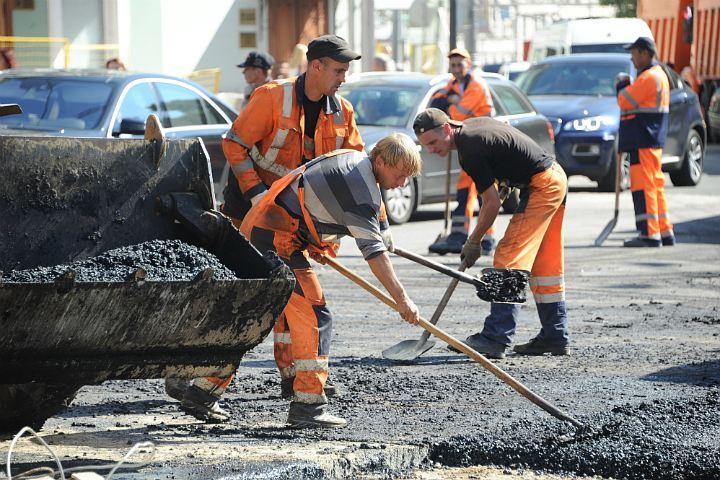 Ремонтные работы на Приморском проспекте продолжались более двух недель