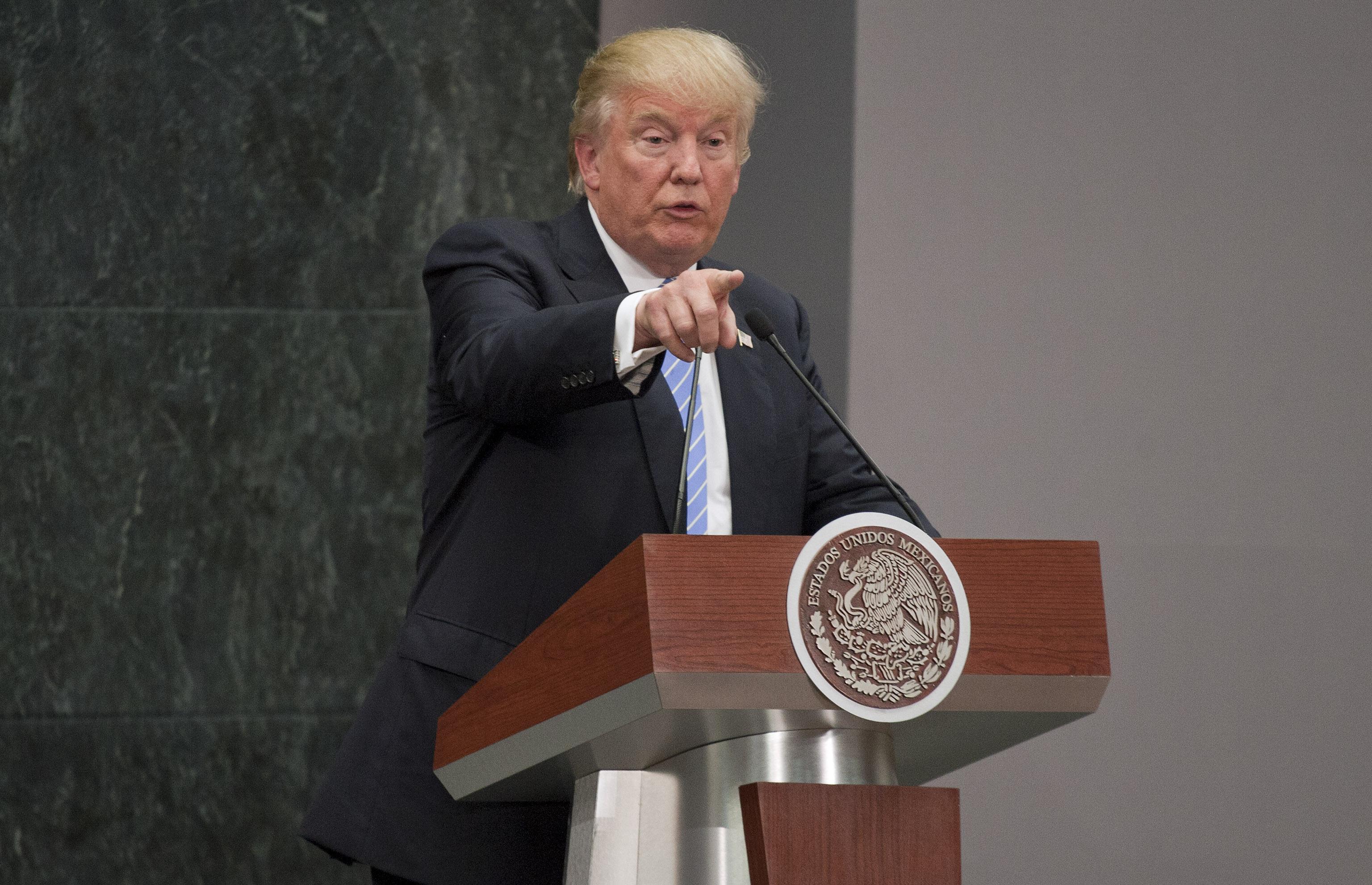 Популярность Трампа продолжает расти, уверены в штабе республиканца Фото: Алексей Дружинин/ТАСС