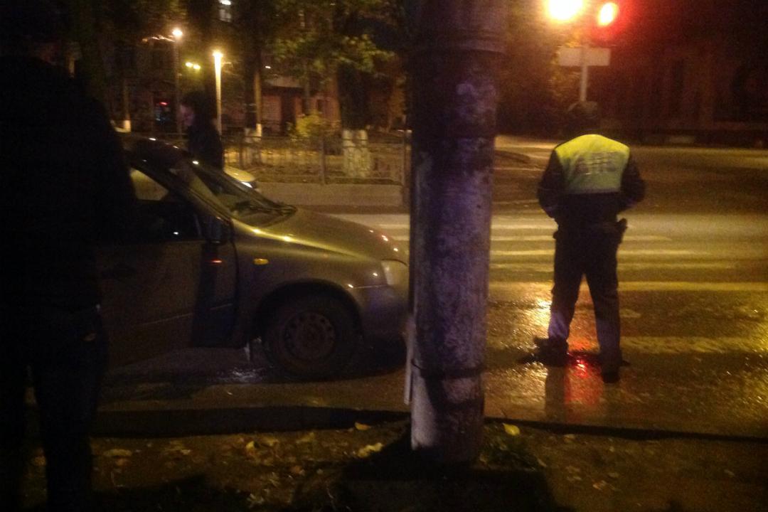 ВКирове словили зарулем нетрезвого полицейского