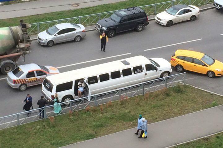 """Европротокол в аварии с такси не поможет Фото: """"ДТП и ЧП"""" ВКонтакте"""