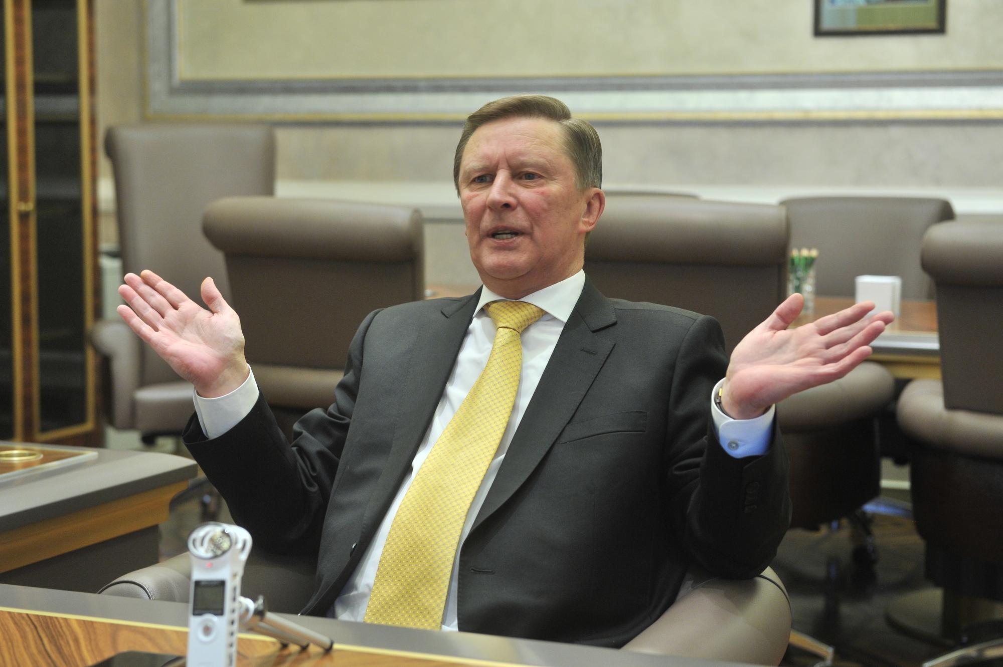 Сергей Иванов: Либеральная часть нашей общественности меня всегда воспринимает как силовика.