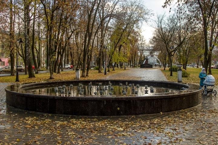 ВПерми отремонтировали один изстарейших фонтанов