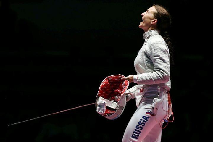 Золотая медалистка Олимпиады – 2016 Софья Великая