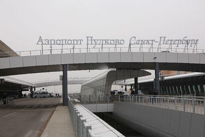 Ваэропорту Пулково взрывотехники икинологи проверяют подозрительный багаж