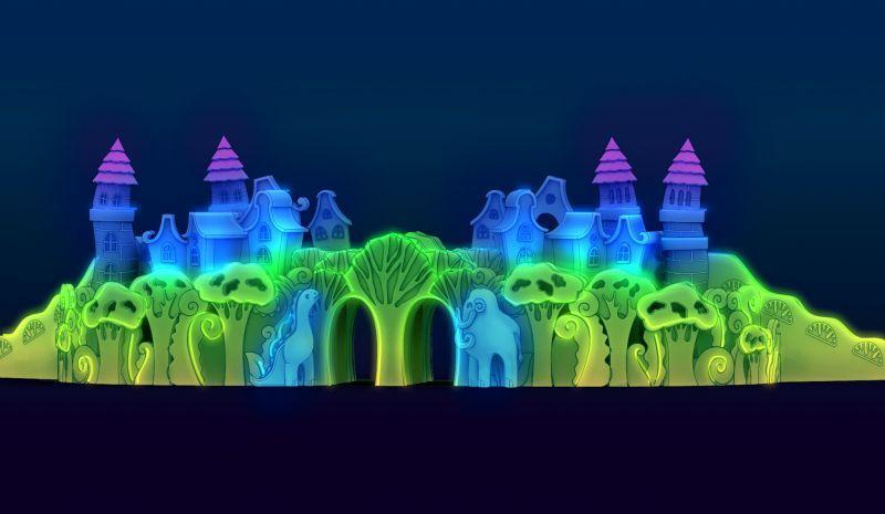 Появился 3D-проект ледового городка напермской эспланаде