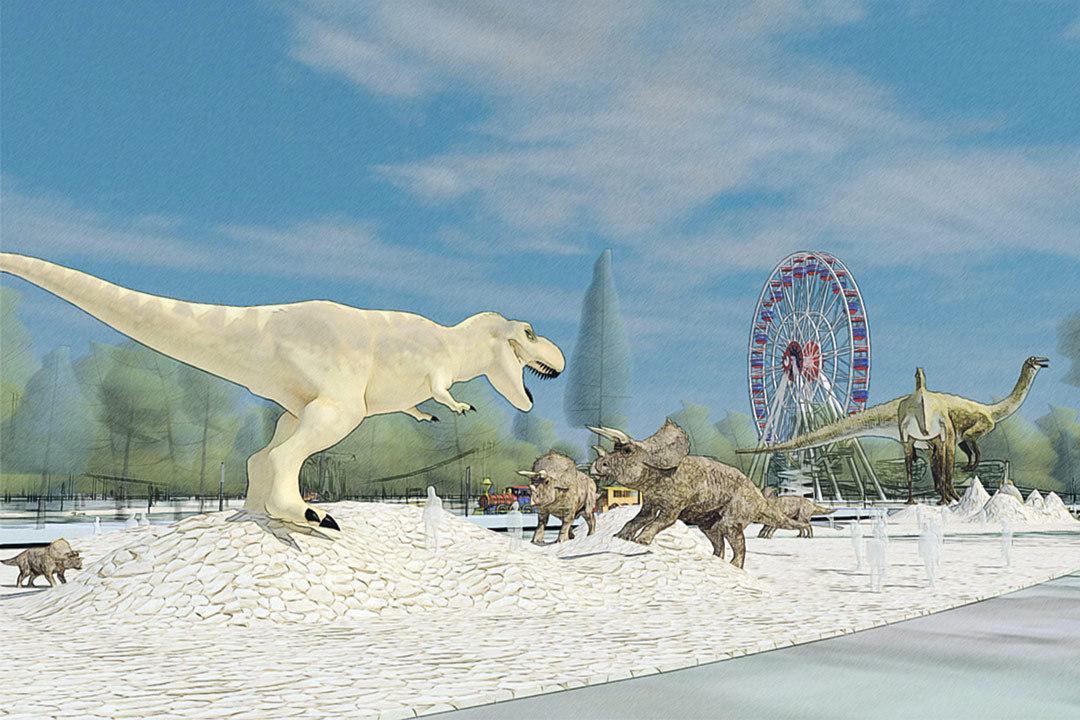 Кроме живности со всех концов света, в зоопарке выставят интерактивные модели динозавров в натуральную величину. Фото: Департамент природопользования и охраны окружающей среды г. Москвы