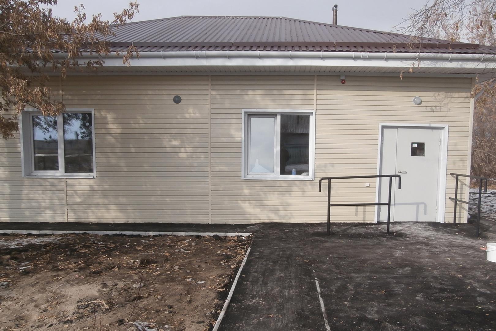 ВОмской области реконструировали фельдшерско-акушерский пункт