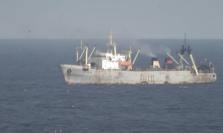 ВОхотском море впожаре насуднеРФ умер человек