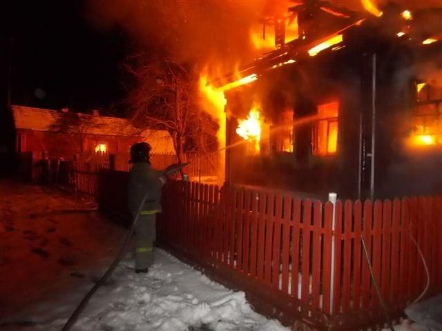 ВКамешковском районе впроцессе пожара погибла пятилетняя девочка