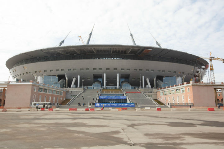 Стадион наКрестовском снова инспектирует комиссия ФИФА