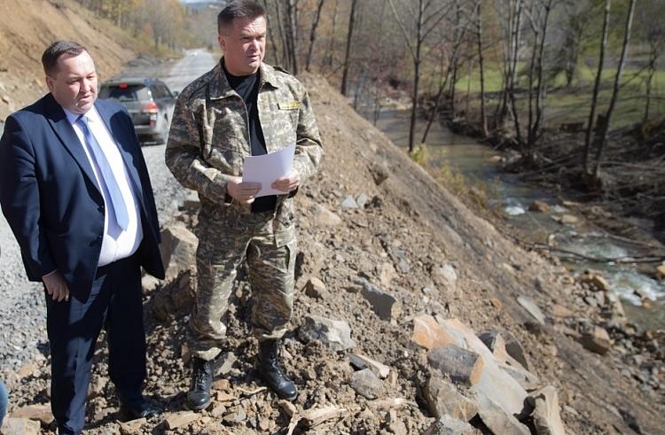 ВПриморье Дальнегорск защитят отразливов реки Рудная