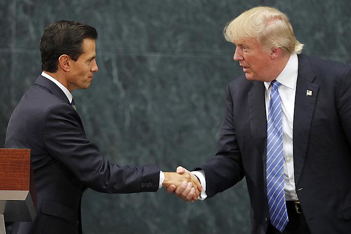 Президент Мексики объявил оготовности сотрудничать сТрампом