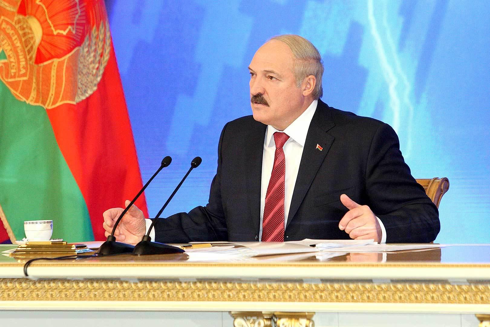 Лукашенко 17 ноября даст пресс-конференцию российским СМИ. Фото: БелТА