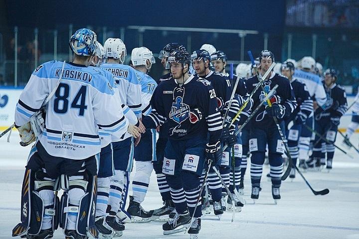«Сибирь» обыграла «Адмирал» вматче постоянного чемпионата КХЛ
