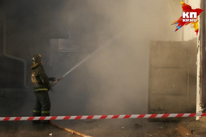 Впожаре наугольном предприятии вПриангарье погибли 2 человека