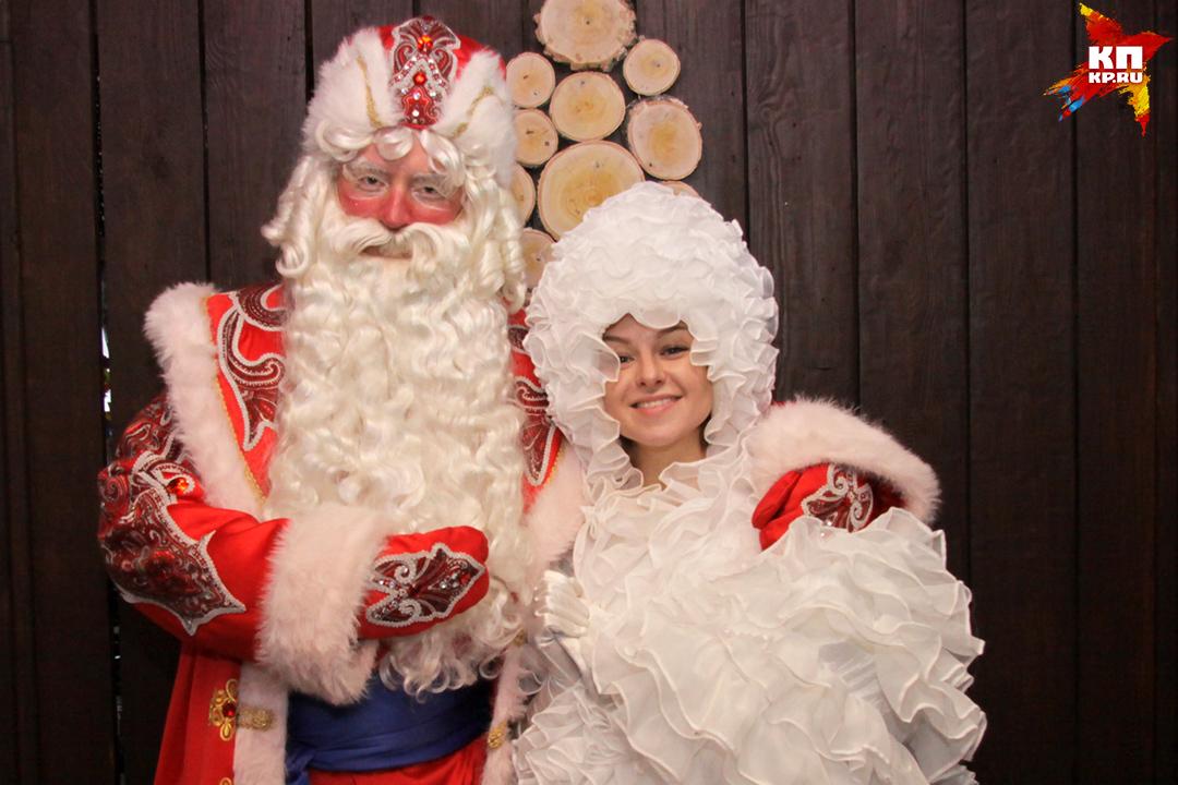 День рождения Деда Мороза отметили в барнаульской «Лесной сказке»