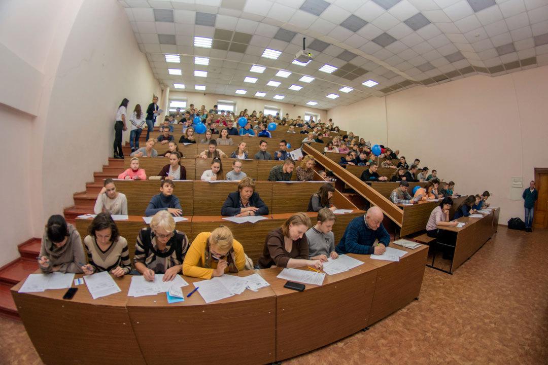 В 2016 году число участников географического диктанта в Алтайском крае выросло вдвое