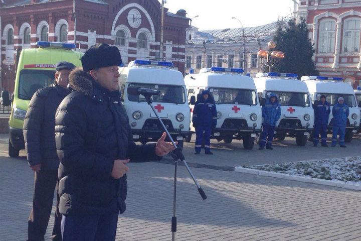 Саратовская область навсе 100% оборудована машинами «скорой помощи»— Губернатор